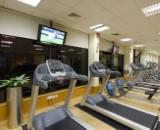 Onsite Gym, aerobics studio & fitness classes